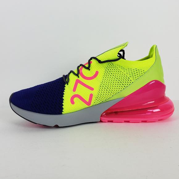 6faadd2d025a Nike Air Max 270 Flyknit Men s 8.5